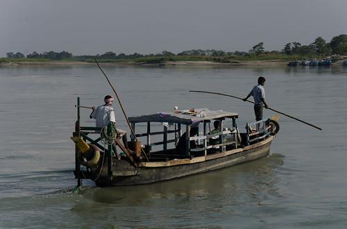 assam india boat ferry brahmaputra