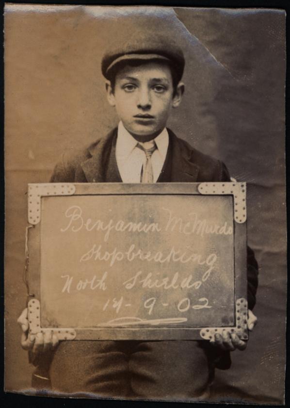 Benjamin McMurdo, arrested for shopbreaking