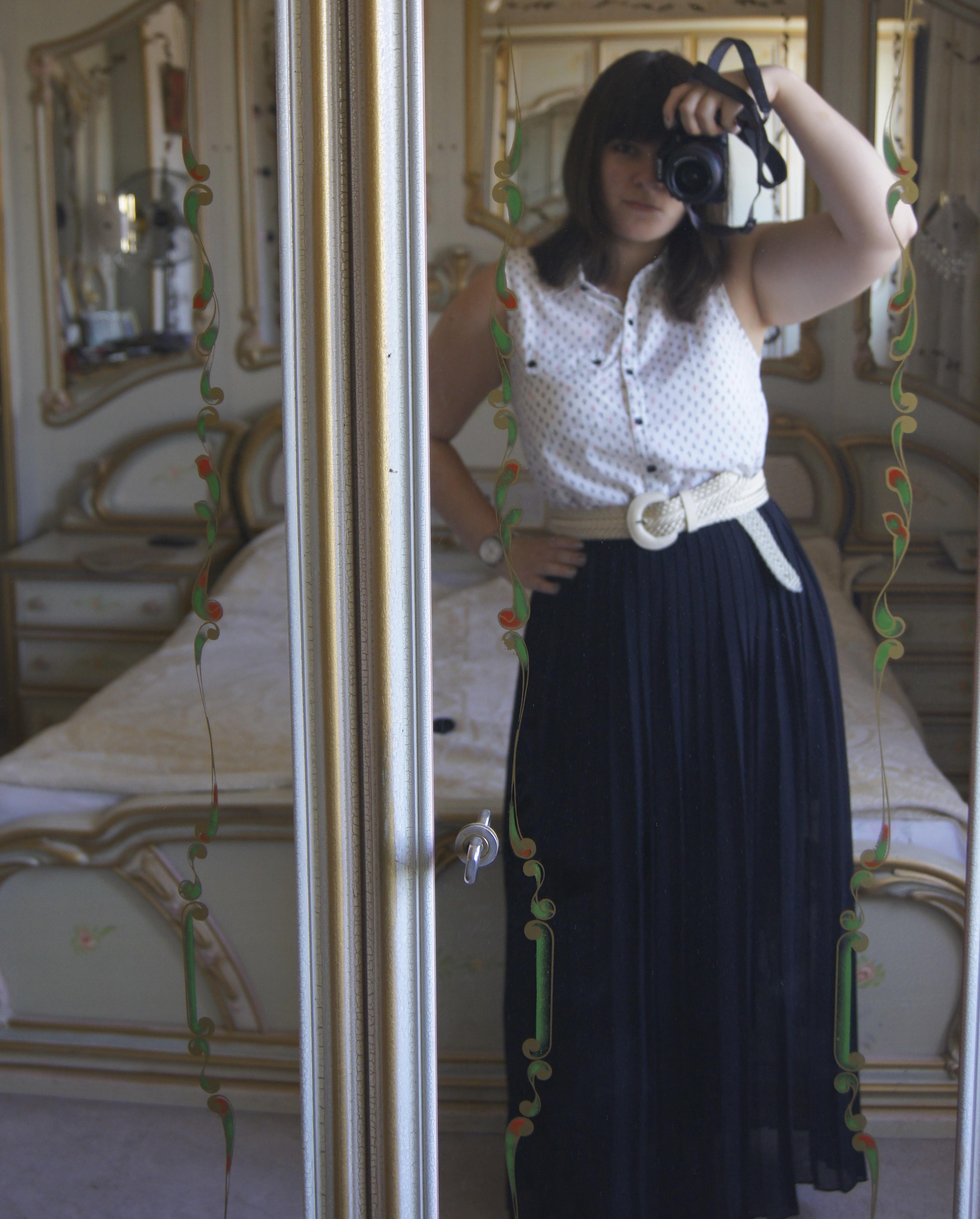 Outfit Post: Hello Sailor! My Anchor Print Shirt