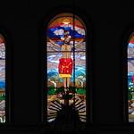 Di, 03.03.15 - 11:31 - Wunderschönes Buntglasfenster in der Kirche von El Cocuy