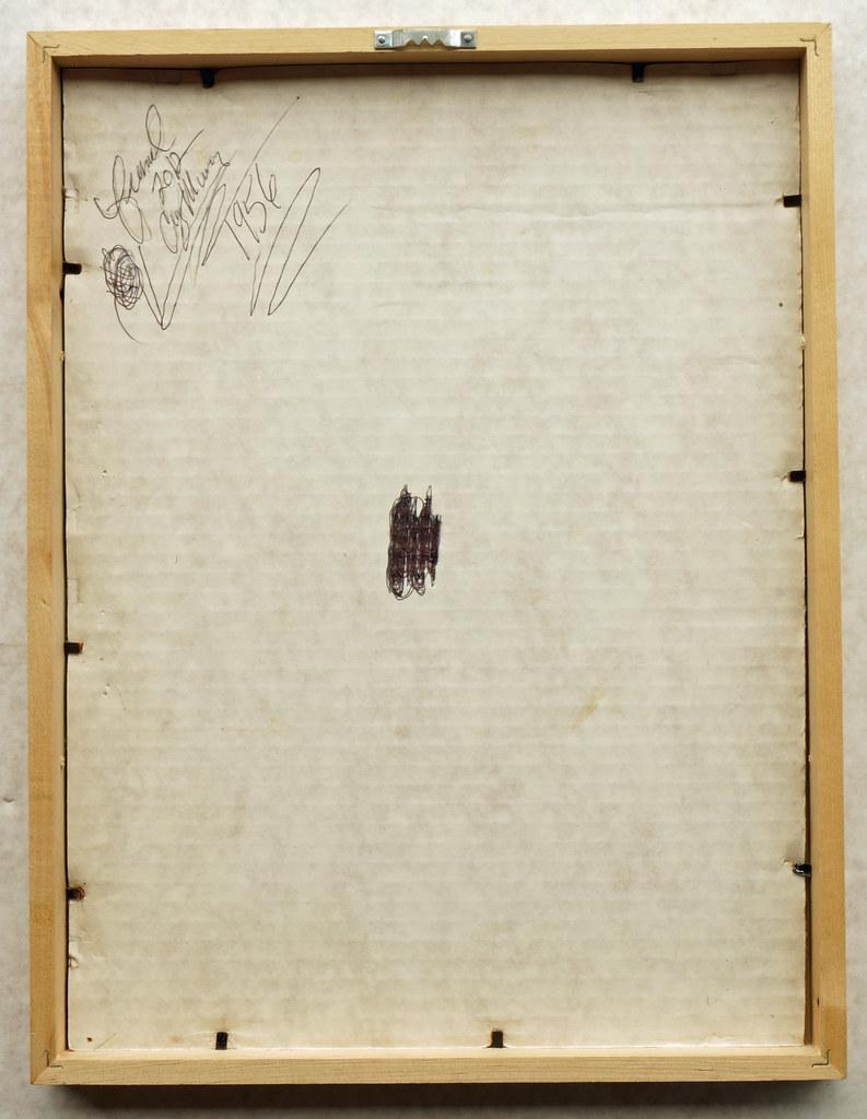 CM170 Camel Bilko Ad 1956 Framed DSC04140