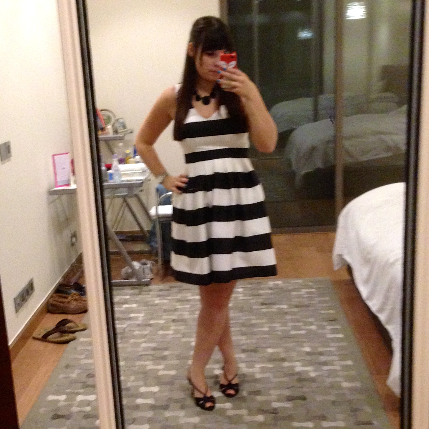 Outfit post: What I Wore to Our Fancy Family Dinner