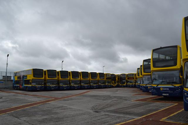 Dublin Bus VT56 07-D-70056 - VT57 07-D-70057 - VT58 07-D-70058 - VT70 07-D-70070 - VT67 07-D-70067 - VT61 07-D-70061 - VT63 07-D-70063 - AX589 06-D-30589 - VT60 07-D-70060 - VT50 07-D-70050 - VT62 07-D-70062 - VT52 07-D-70052