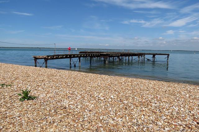 Disused pier near Fort Victoria