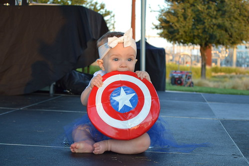 Costume Contest Winner - Super Baby: Captain America - Kenzie Rister | by CASA of Travis County