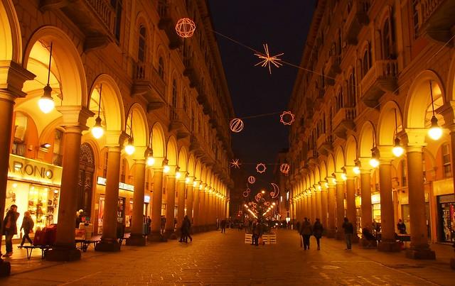 Turin at dusk