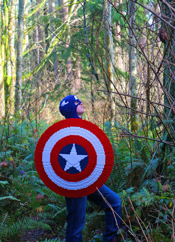 LEGO Captain America's Shield