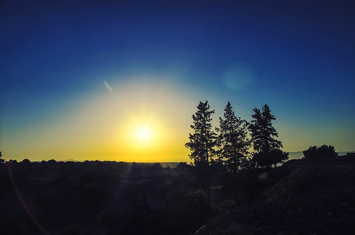blue sunset orange dark jordan