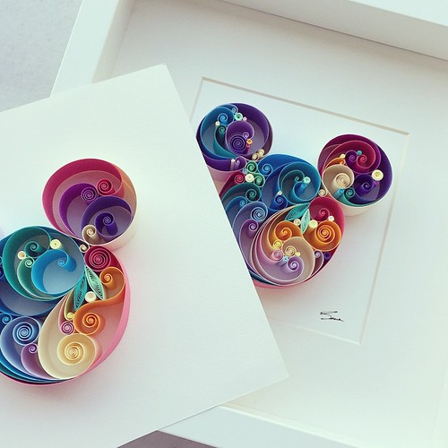 Quilled Never Stop Dreaming | by all things paper