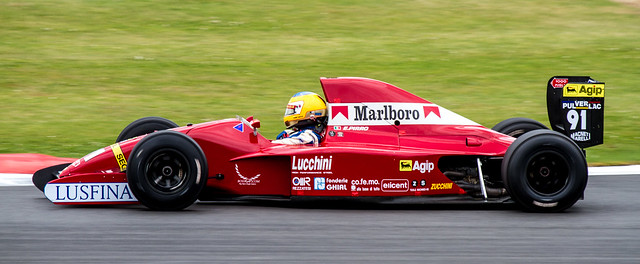 Silverstone Classic early F1 racer
