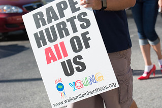 Walk-A-Mile In Her Shoes Community Awareness Event - August 2016 | by AFGE