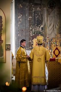 Литургия в Ильинском соборе 490