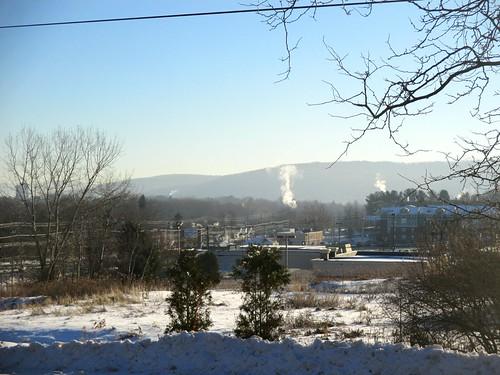 morning winter snow newyork sunny vestal susquehannariver appalachianmountains residenceinn ccccold temperature14c ahobblingaday temperature7f greaterbinghamton