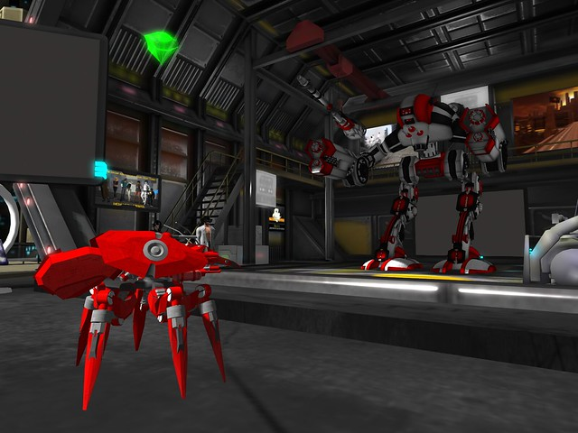 Science Ficttion Convention - New Vegas - Robotics In Red