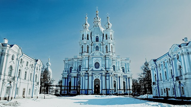 Smolny, Saint Petersburg. (Explore )