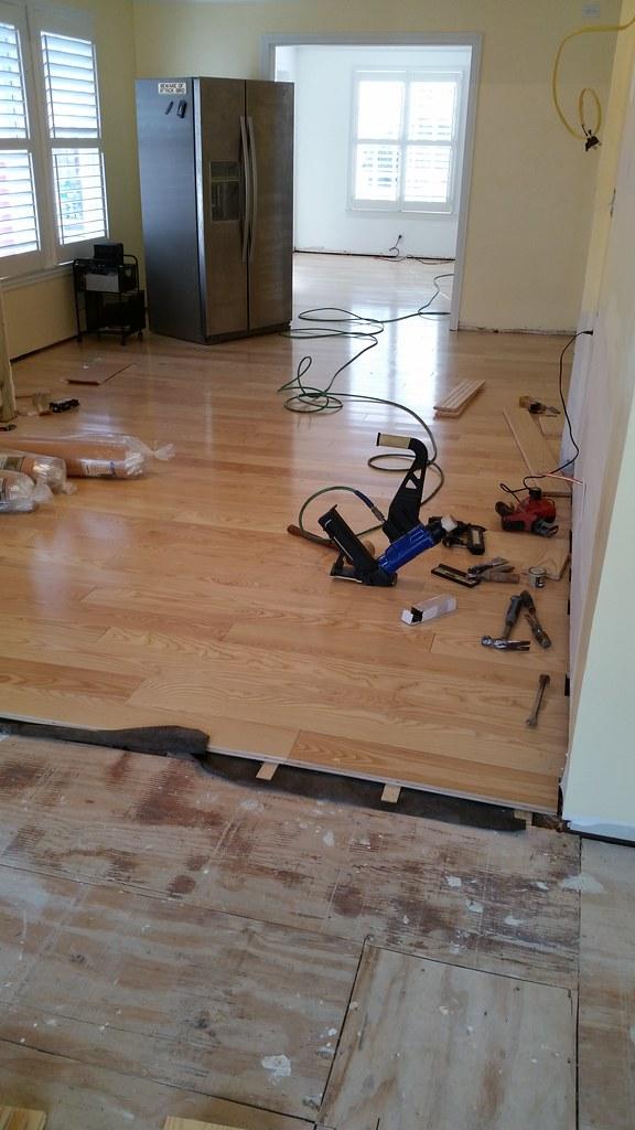 Installing Bellawood flooring