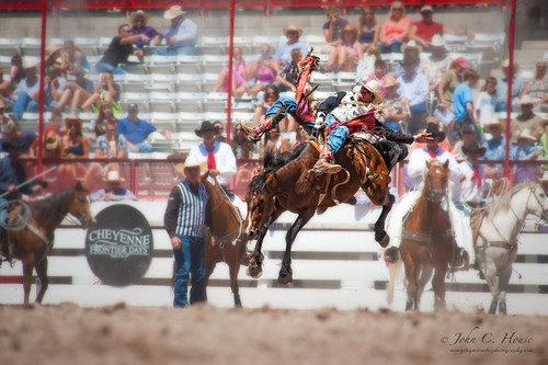 nikon cowboy rodeo cheyenne saddlebronc frontierdays everydaymiracles d700 johnchouse levitatinghorseseries