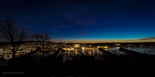 longexposure nightphotography blue orange norway bluesky cannon kanon bluehour tønsberg vestfold kaldnes