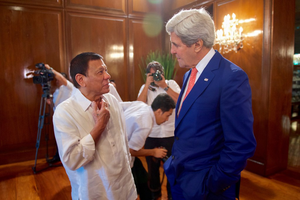 Kerry and Duterte