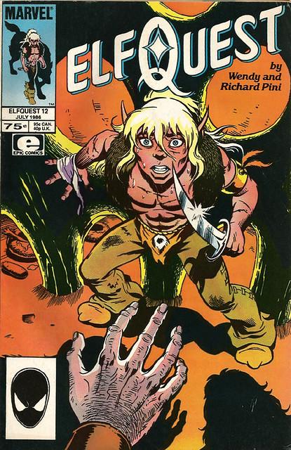 Comic Book Cover Elf Quest 12 July 1966