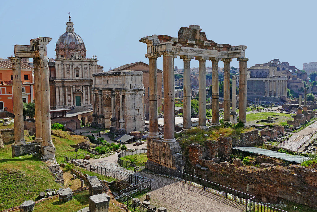 ancient Rome | view from Capitoline Hill Rome, Italy | Leo Reynolds | Flickr