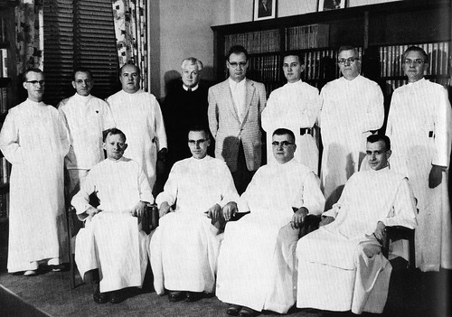 Alexian Brothers Hospital Department Managers in Chicago, Ill 1957