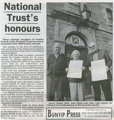 Gawler National Trust - Bunyip 1999 0617