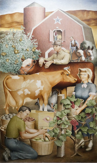 Agriculture - WPA murals USDC
