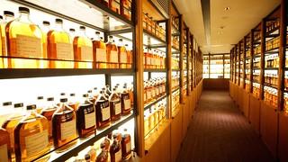 各個年份的陳年威士忌樣瓶   by macglee
