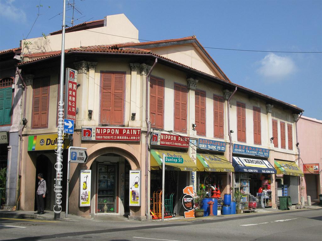 Sinbun Trading Pte Ltd Shophouse, Jalan Besar, Little Indi