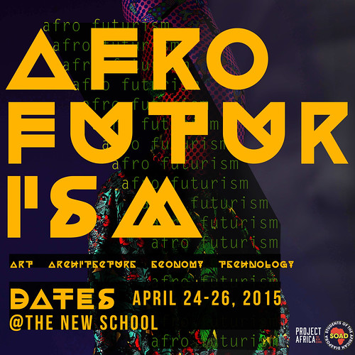 FLYER| Afrofuturism Conference d1 | by jjazzymane