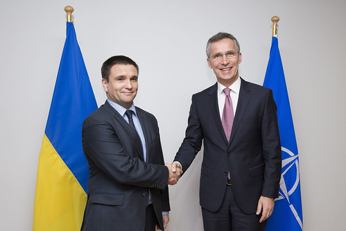 Minister of Foreign Affairs of Ukraine visits NATO | by NATO