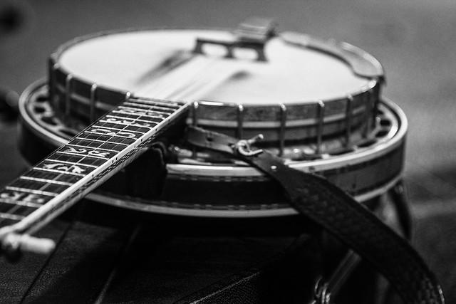 Banjo Neck Detail
