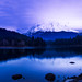 I was hoping for nice sunrise,despite our forecasters note that it would skunk. Indeed it, However I liked the blue hour,for a moment there was a nice glow on mountain! and yes it was freaking cold.   2 50mm shots stitched on d810