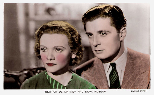 Derrick De Marney and Nova Pilbeam in Young and Innocent (1937)