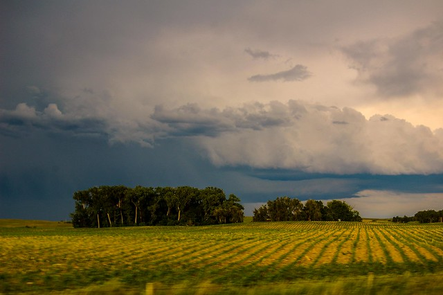 060210 - Storms Building in South Central Nebraska