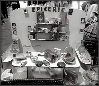 vintage miniature épicerie