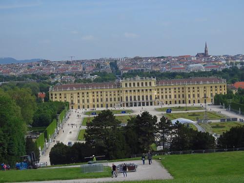 圖01雄布朗宮--.歐洲第二大的皇宮