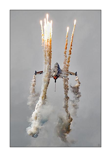 Falcon on Fire