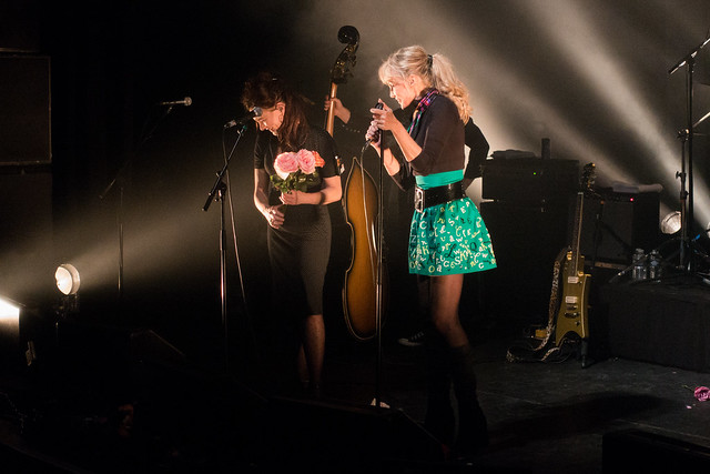 Arielle Dombasle and the Hillbilly Moon Explosion : French Kiss Tour - La Cigale, Paris (2015)