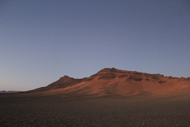 Twilight in the Sahara