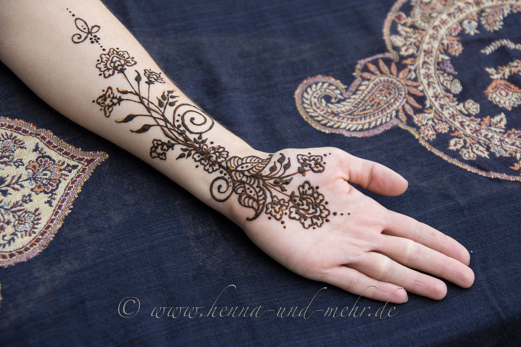b12adcdbb Henna painting on a forearm 2015   Henna or mehndi is not a …   Flickr