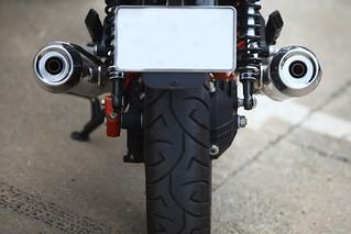 Motor rendszámtábla