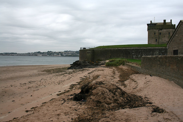 The beach at Broughty Ferry