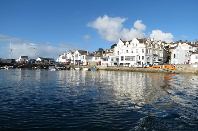 Departing St Mawes