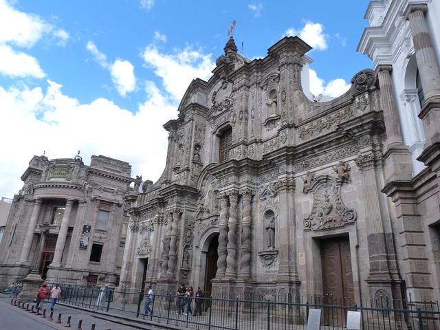 Iglesia de la Compañía en Quito (Ecuador)