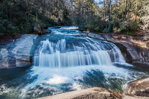 nature water river landscape waterfall unitedstates january northcarolina falls 2015 horsepastureriver laketoxaway turtlebackfalls