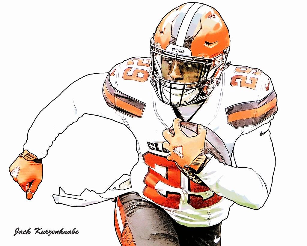 Browns Football Helmet Drawing   helmet