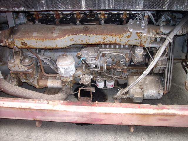 MD60 engine compartment as recovered September 2007