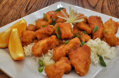 Mmm... orange chicken | by jeffreyw